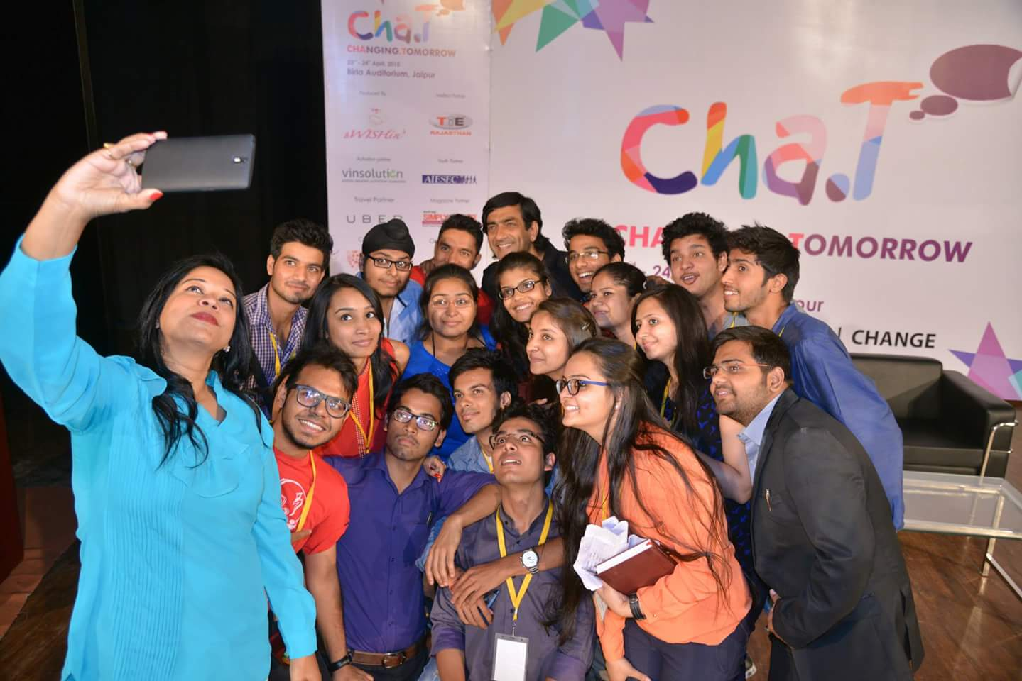 CHaT Jaipur- Speaking To Young Minds