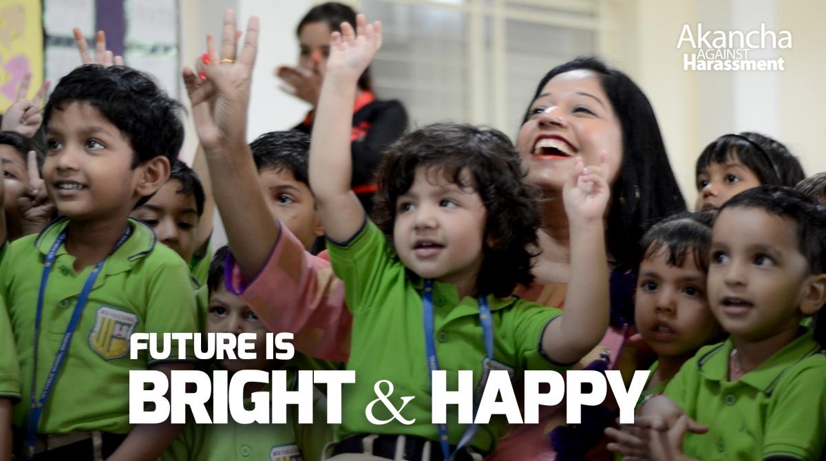 FUTURE IS BRIGHT & HAPPY!